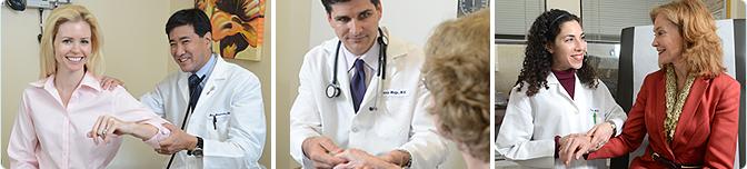 Dr. Matsumoto, Shoulder Pain, Dr. Wolfe, Patient Consultation, Dr. Diamond, Treatment for Arthritis, Arthritis and Rheumatism Associates
