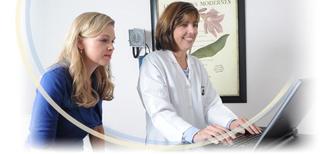 Dr. Emma Dilorio Viewing ARAPC Patient Portal