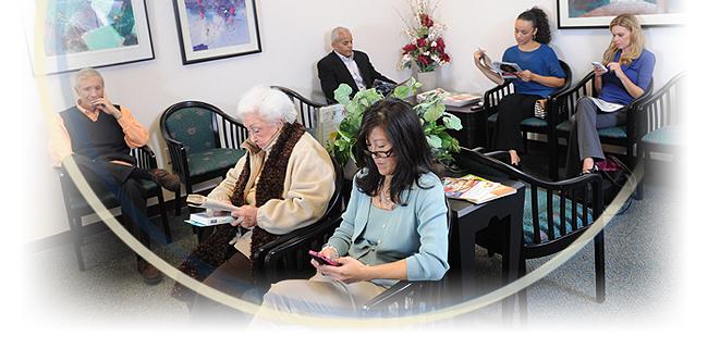 Arthritis and Rheumatism Associates Patient Reception Area