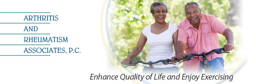 Arthritis and Rheumatism Associates, Enhance Quality of Life and Enjoy Excercising